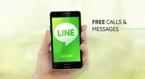 Line for iPad, iPhone, BlackBerry and Android Free App Download