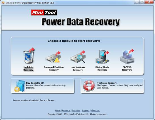 MiniTool Power Data Recovery Free Edition Review