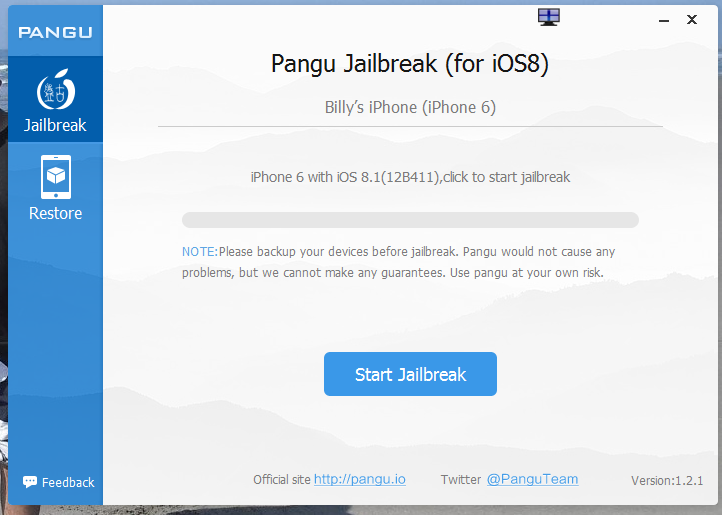 Jailbreak iOS 8 and 8.1
